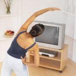 Как похудеть перед телевизором
