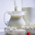 молоко - обезжиренные продукты питания