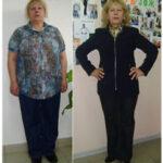 Татьяна похудела на 36 кг